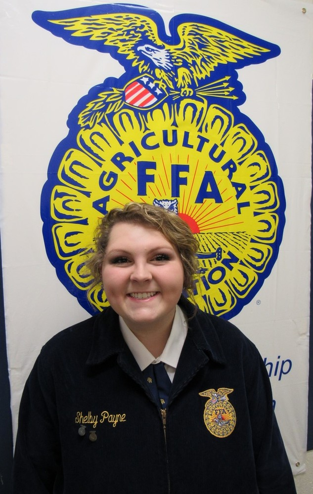 PAYNE SELECTED AS FFA MEMBER OF THE MONTH