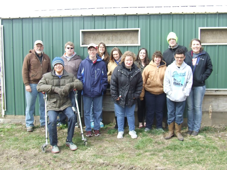 LIFE SKILLS CLASS TAKES A TRIP TO THE FARM