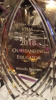 Mrs. Bowers Receives Outstanding STEM Educator Award & Grant