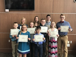 Olympia Students Honored at IPA Luncheon