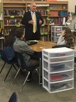 Mock Trial Students Learn From Bloomington Lawyer