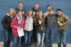 Olympia FFA Knows Dairy Cattle Judging