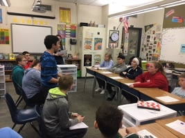 7th Grade Students Practice Debate Skills