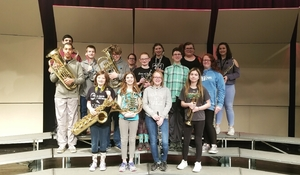 "8th Grade Band Recieves ""Superior"" at State"