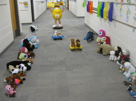 Kindergarten Stuffed Animal Sleepover at OWE