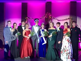 Olympia Crowns Prom Queen and King
