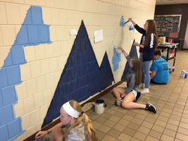 Students Begin Mural Project