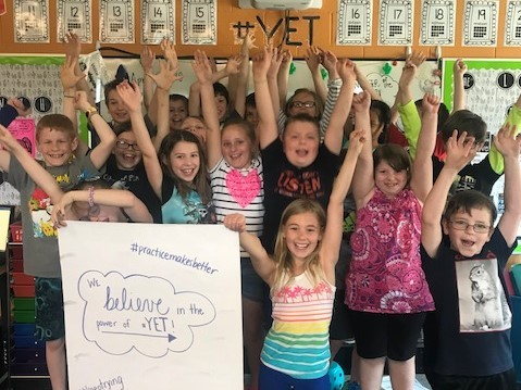 2nd Graders Celebrate the Power of #YET