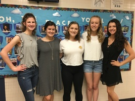 NHS Announces New Officers
