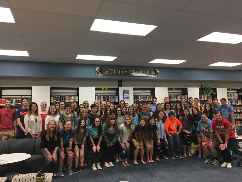 NHS Recognizes Seniors and Welcomes New Members
