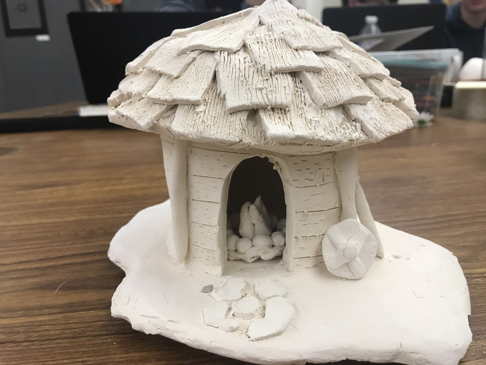 OHS Sculpture and Ceramics Class Pushes Students' Artistic Abilities