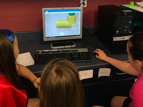 3D Printing in 2nd Grade
