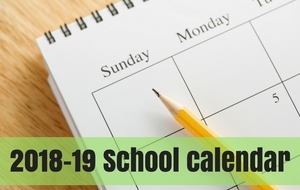 Check Out Next Year's School Calendar