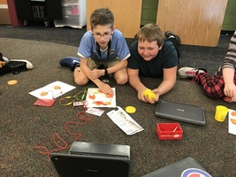 5th Graders Transform Play Dough Into Computer Keys