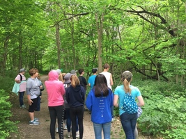 Sixth Graders Spend Day at Funks Grove