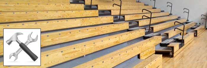 Bleacher Wood for Sale