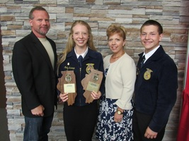 Schempp Earns Double Win at State FFA Convention