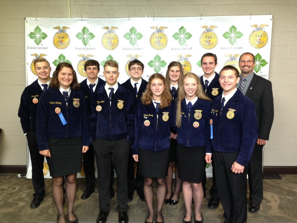 Olympia FFA Honored at State Convention