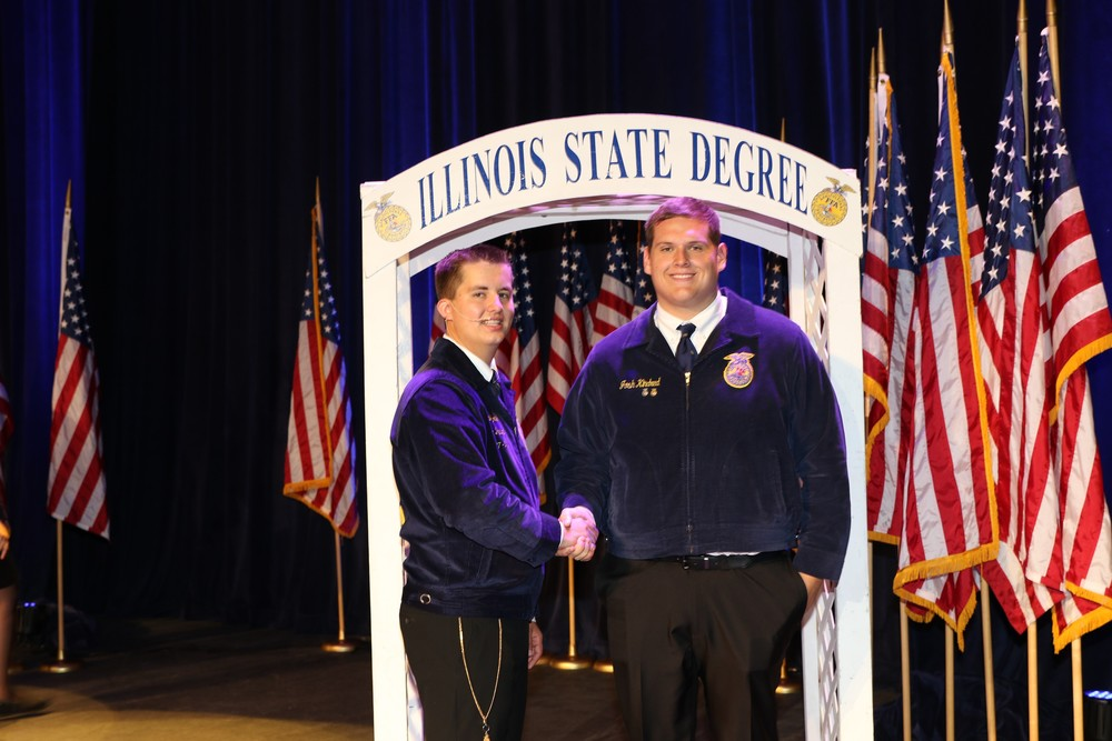 Olympia FFA Members Earn State FFA Degrees