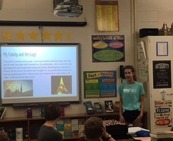 7th Grade Students Present 'My Story' Projects