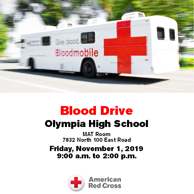 Olympia High School to Host Blood Drive