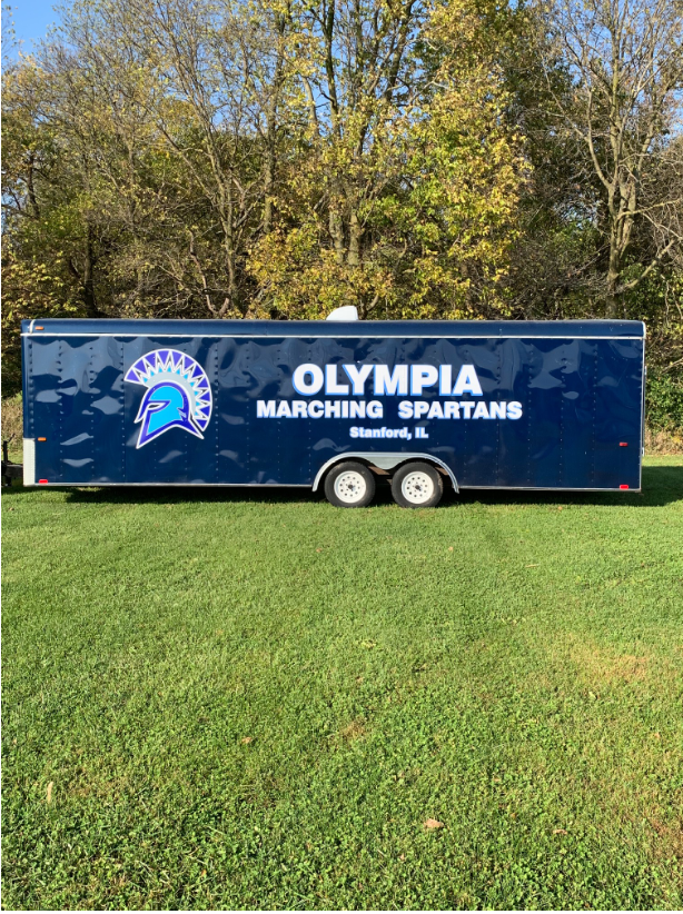 OHS Marching Spartans Band Trailer Gets Facelift