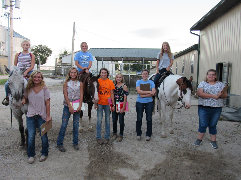 Olympia FFA Took on State Horse Judging Competition