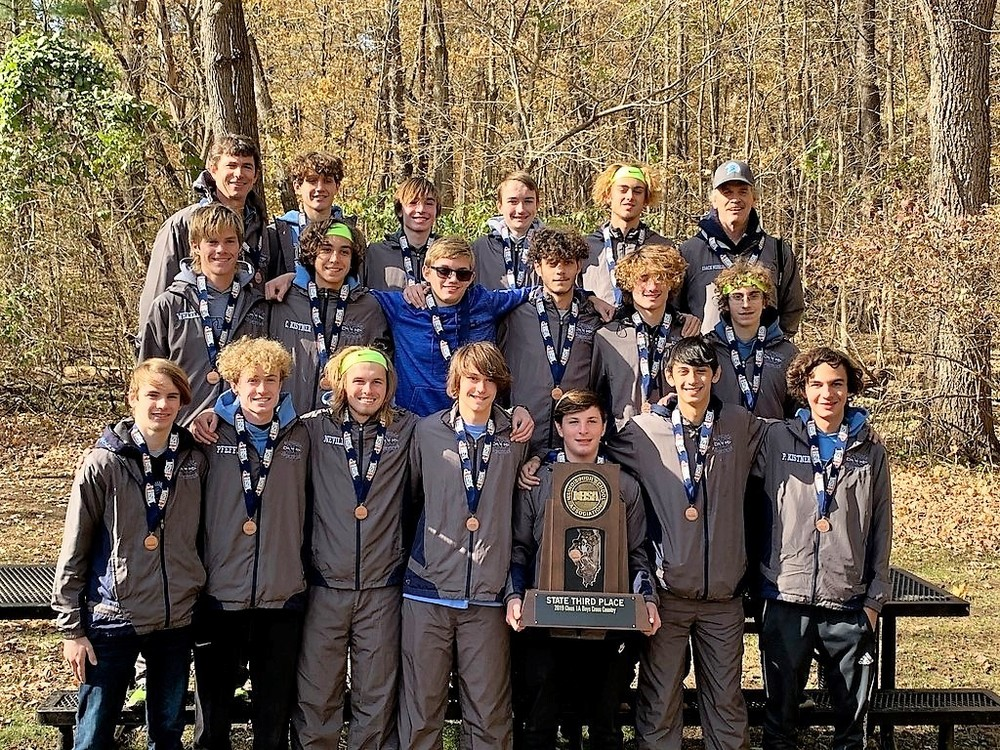 3rd in State for OHS Boys Cross Country