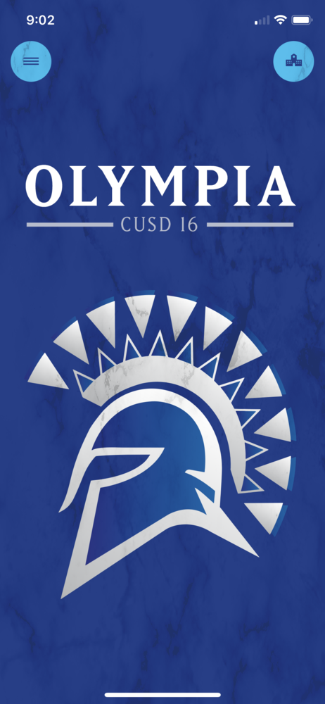 Updated App for Olympia!