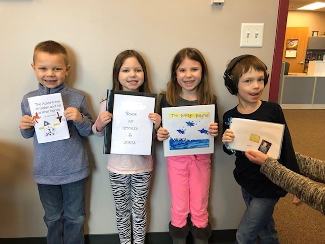K-1 Young Author Winners
