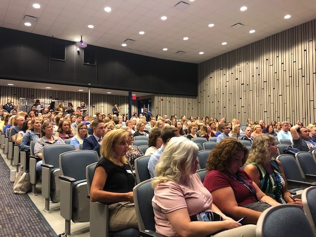 Opening Day for Olympia Teachers and Staff