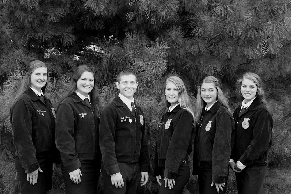 Olympia FFA Alumni & Supporters Name College Scholarship Winners!