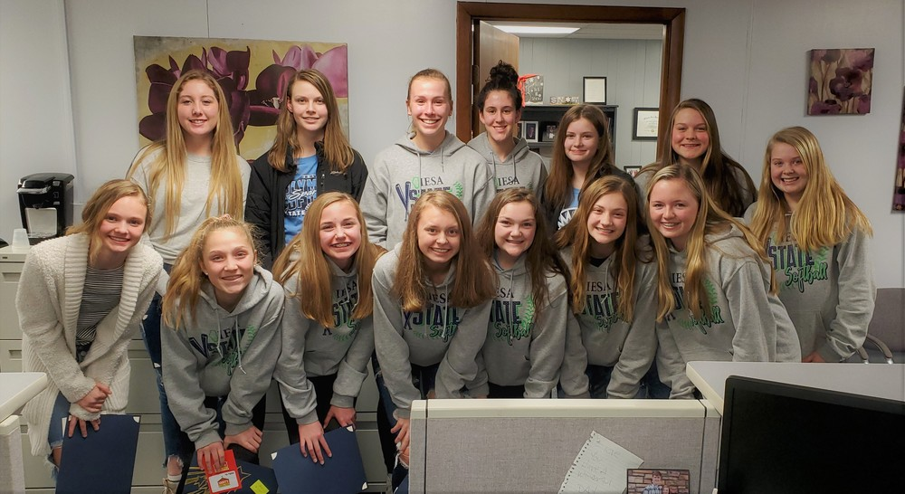 Olympia Board Recognizes OMS Softball Team
