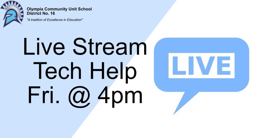 Tech Info and Q&A Live Stream | 4.3 @ 4 PM