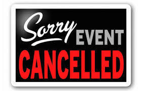 Princess/Superhero Event Cancelled