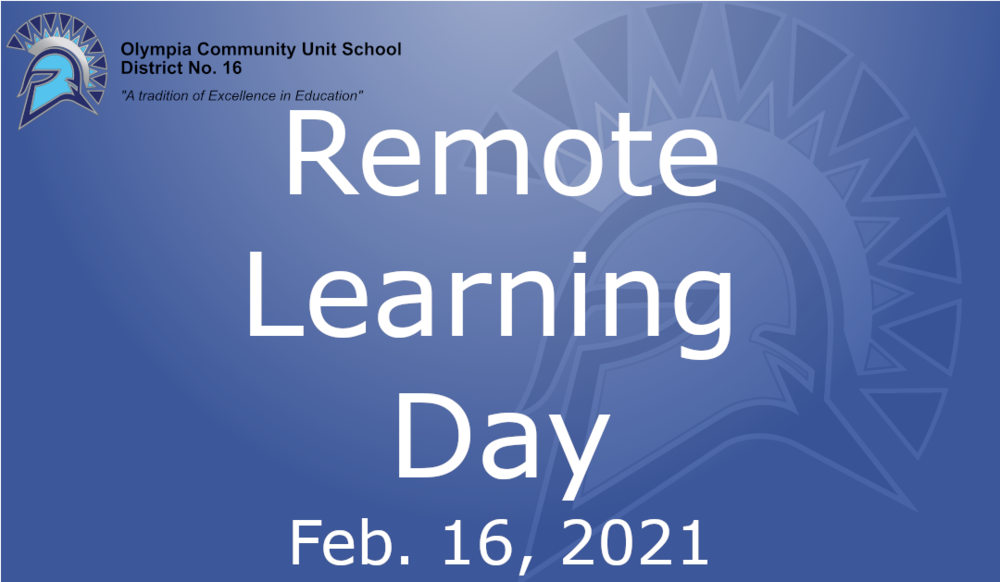 Remote Learning Day | 02.16.2021