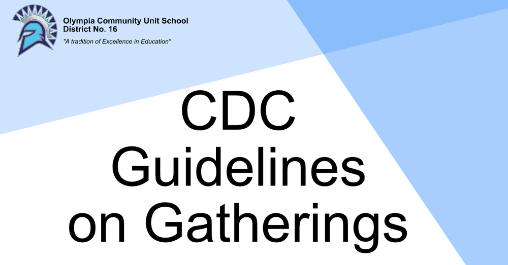 CDC Recommends Gatherings of No More Than 50 People