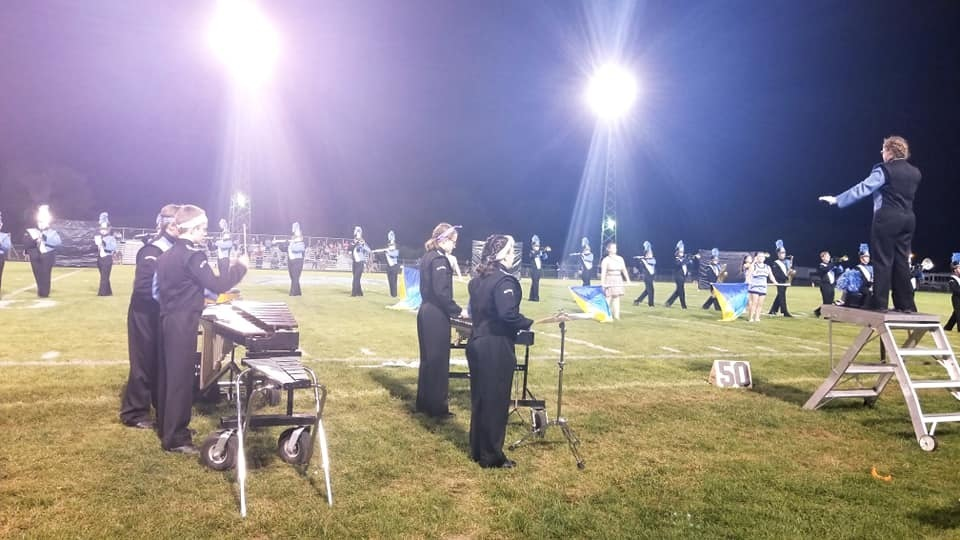 Band Excels at Morton Invitational