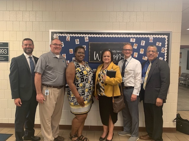 State Superintendent Ayala and ISBE Staff Visit Olympia