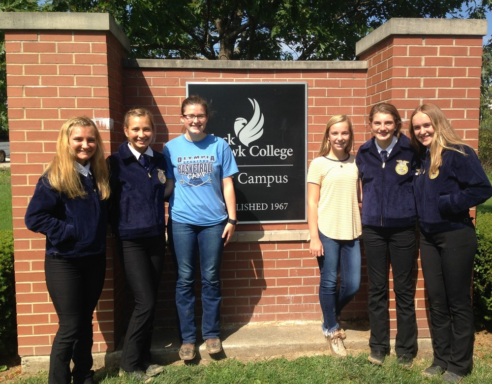 Olympia FFA Takes 4th at State Horse Judging
