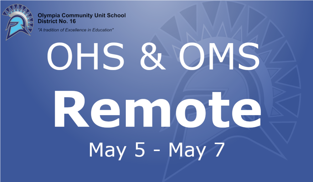 OHMS Remote May 5th to 7th