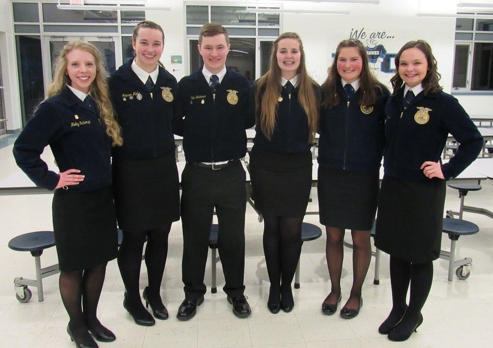 Olympia's Schempp and Litwiller Elected Section 9 FFA Officers