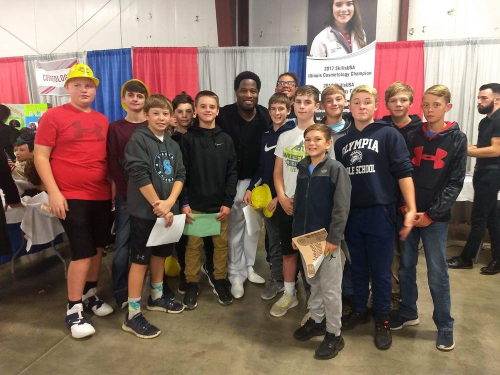 8th Graders Visit Career Expo