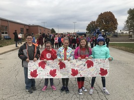 Oly West Celebrates Red Ribbon Week