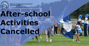 After-school Activities Cancelled - Feb. 13