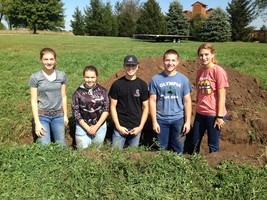 Olympia FFA Earns Third at Section 9 Land-Use Career Development Event