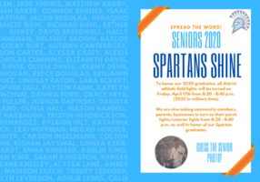 Spartans Shine | Class of 2020 Recognition