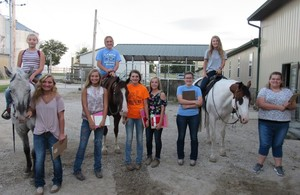 Olympia FFA Wins the Section 9 Horse Judging CDE