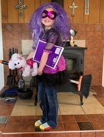 Oly South 1st Graders Participate in Quaratine-o-Ween
