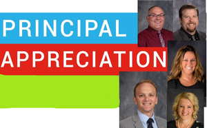 Olympia Appreciates Principals During Appreciation Month